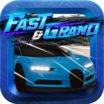 Fast Grand: Open World & Free Roam Car Driving