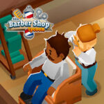 Idle Barber Shop Tycoon – Business Management Game